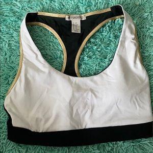 Forever 21 reversible sports bra